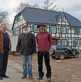 Denkmalpflege und Pragmatismus – Fachwerk-Großbaustelle Bödinger Hof